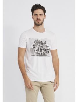 Tee shirt avec imprimé