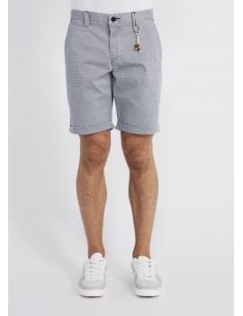 Short homme pied de poule