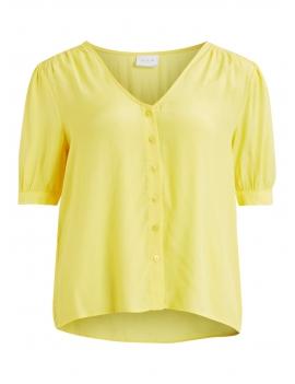 Tee shirt fluide boutonné à l'avant