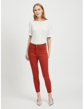 Pantalon coupe slim 7/8