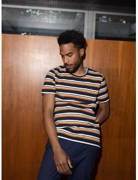 Tee-shirt col rond en coton