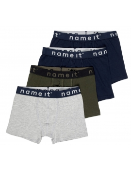 Pack de 4 boxers garçon