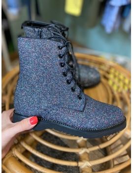 Boots à paillettes fille
