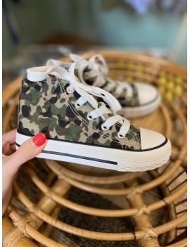 Baskets camouflage garçon