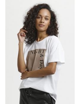 Tee-shirt avec inscription
