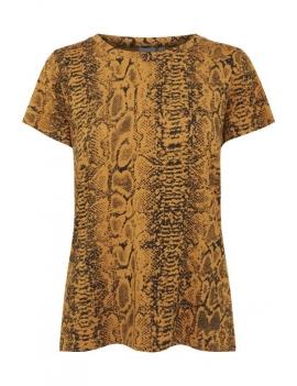 Tee shirt imprimé léopard