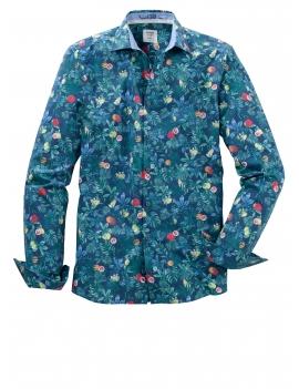 Chemise motifs tropicaux